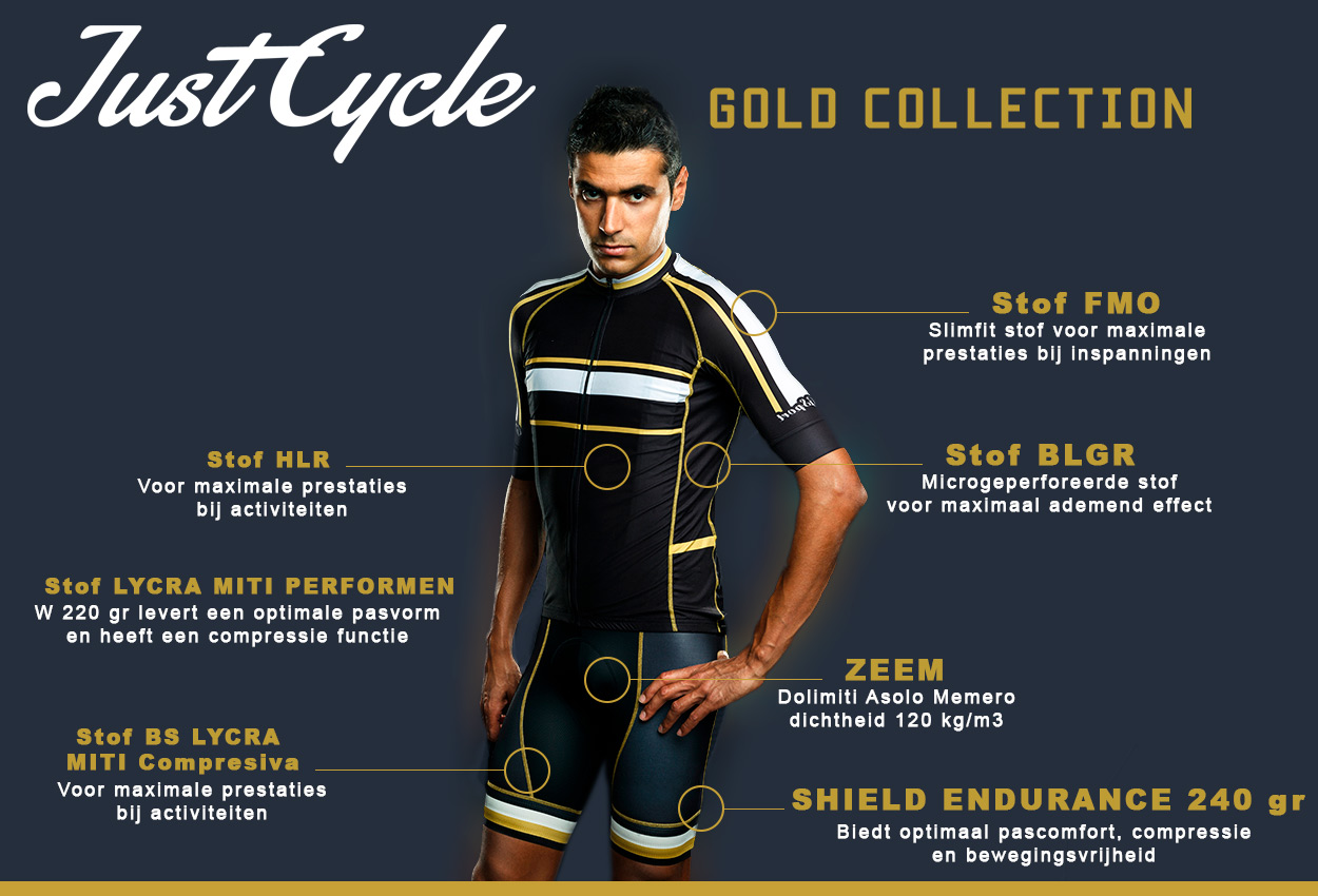 JustCycle Gold Collectie