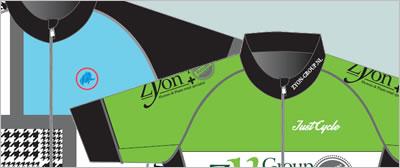 De designers van Just Cycle gaan aan de slag met uw idee en ontwerpen een prachtige wieleroutfit.